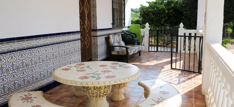 Covered terrace - 27m²