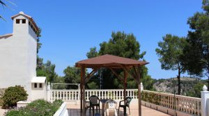 Pool terrace - 42m² With gazebo