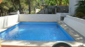 5m x 4m swimming pool