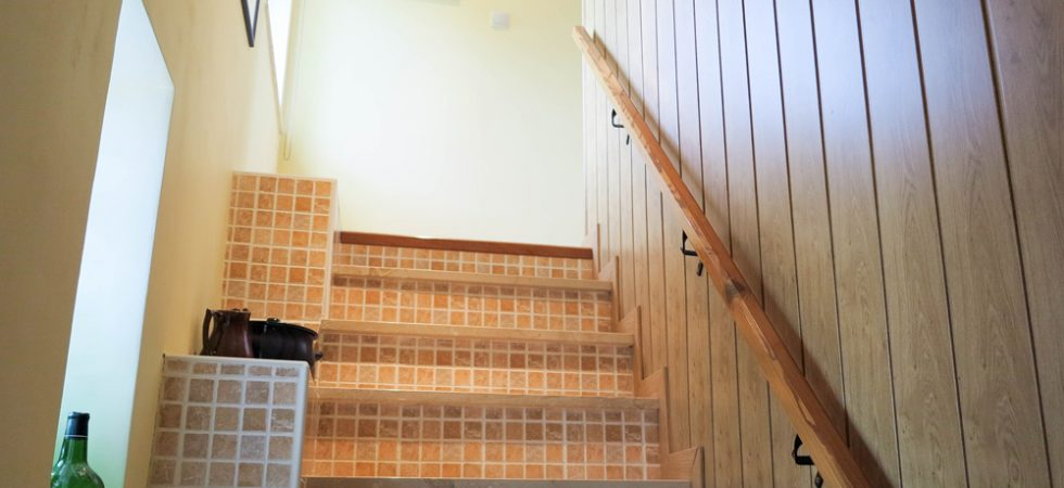 Staircase to Bedroom 1