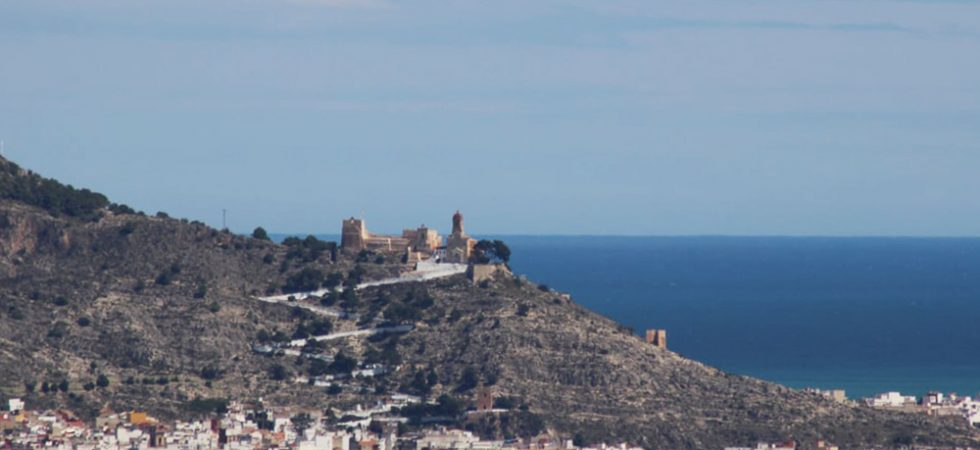 Views across to Cullera castle