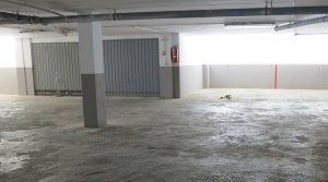 Private car parking space included in the sale