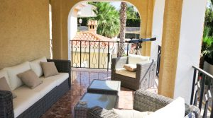 First floor Covered terrace - 34m²