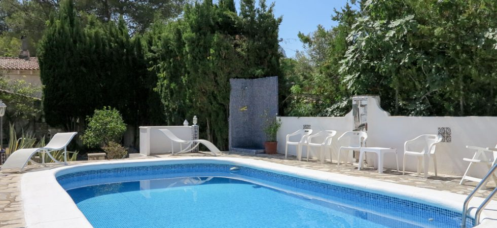 8m x 4m swimming pool
