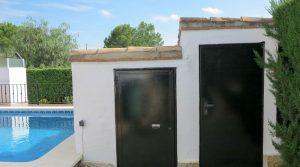 Pool house - 3m² • Storeroom - 5m²