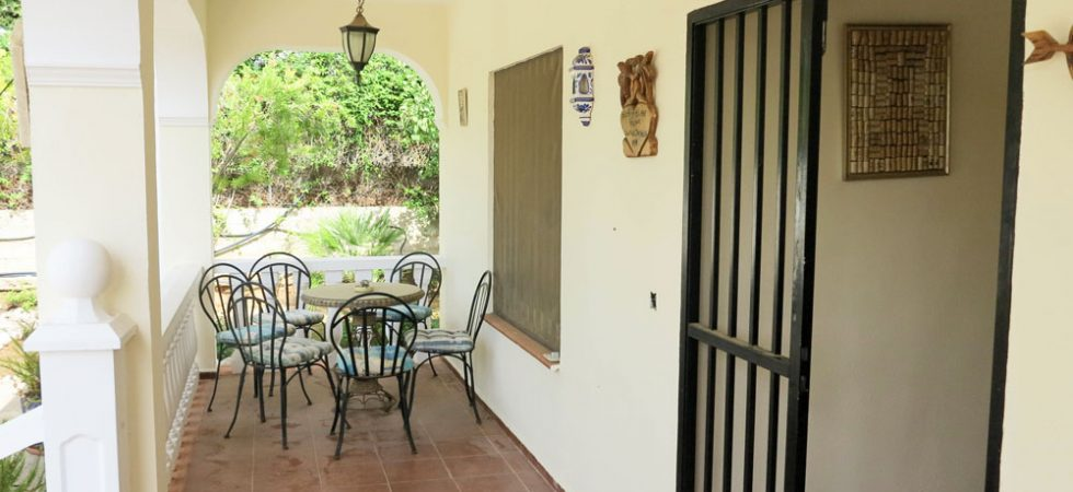 Covered terrace - 16m²