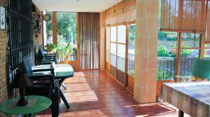 Glazed-in terrace - 40m²