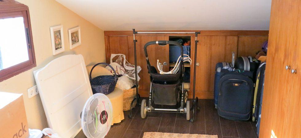 First floor Storage room - 8m²