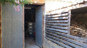 Garage - 22m² • Wood store - 25m²Storeroom - 35m²