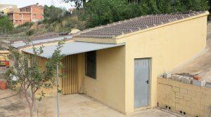 50m² ChaletCovered terrace - 10m²Storeroom - 5m²