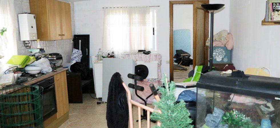 50m² Chalet Lounge/kitchen - 23m²