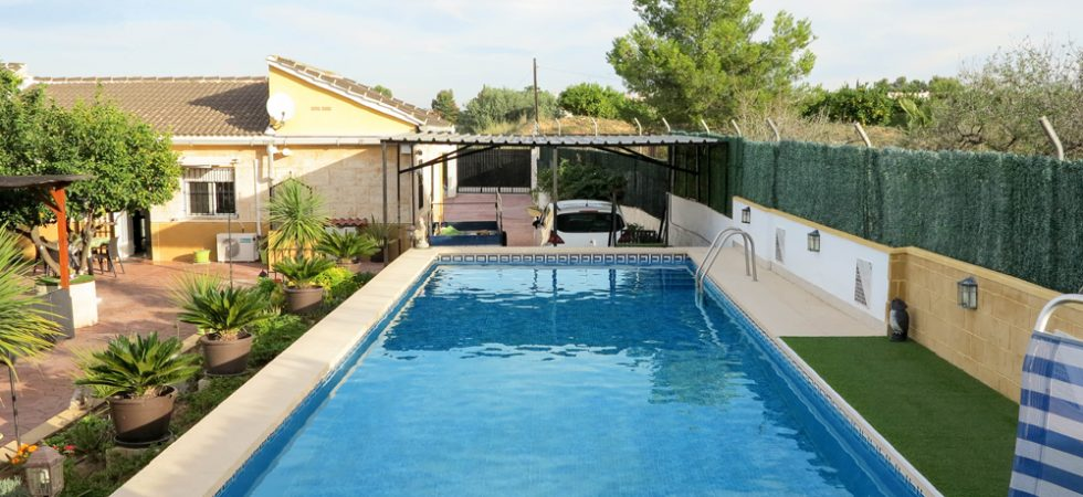 Villa for sale in Real, Valencia with fantastic views – 018782