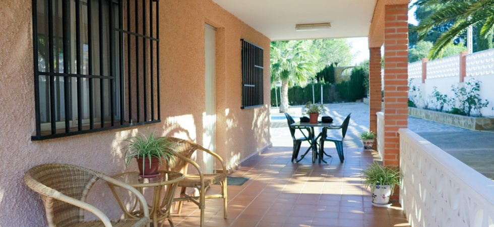 Covered terrace - 20m²