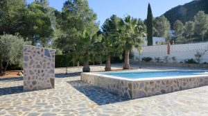 Swimming pool terracePool house - 3m²