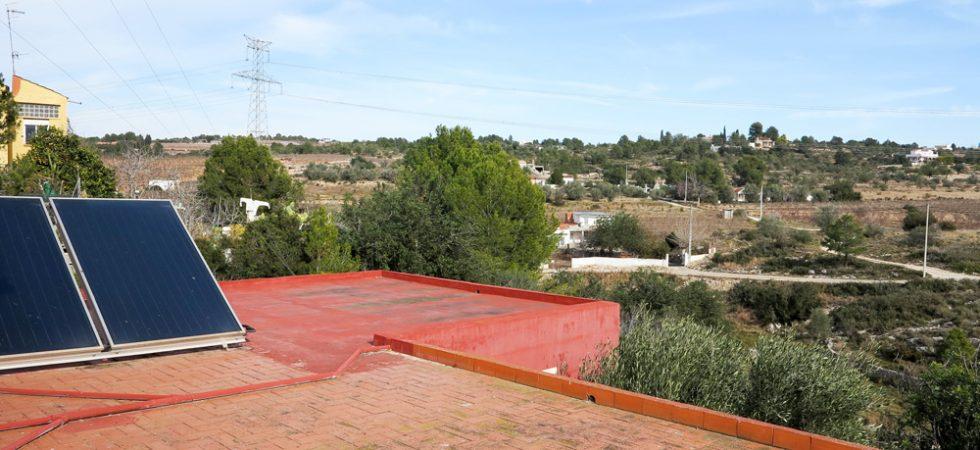 First floor Roof terrace - 81m²