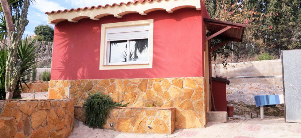 Paella house - 12m²Storeroom - 17m² (not shown)