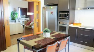Kitchen/diner -  20m²