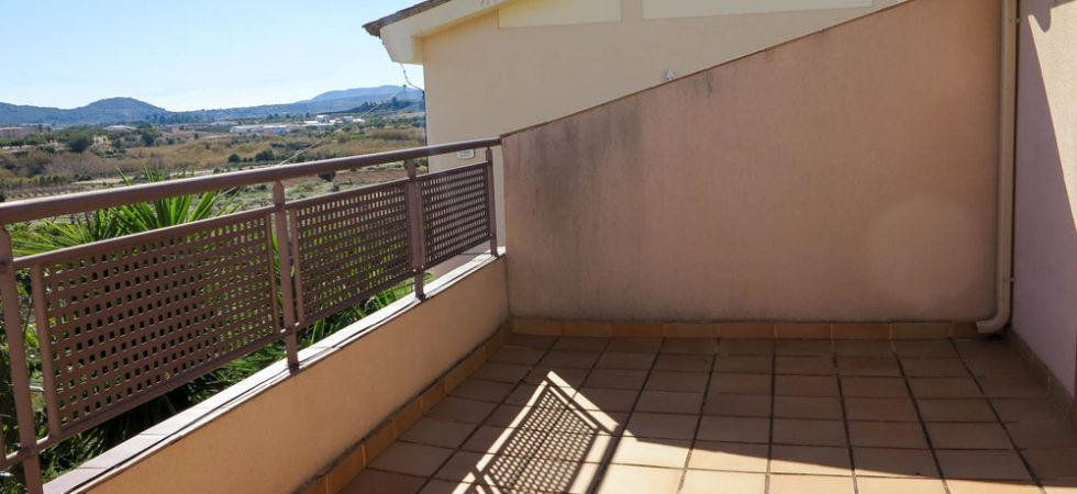 Balcony terrace -  17m²