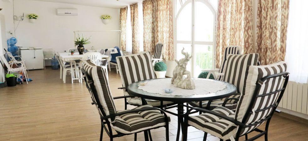 Enclosed terrace - 70m²