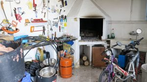 Outside kitchen / Storeroom