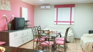 Lounge/dining room/kitchen - 34m²