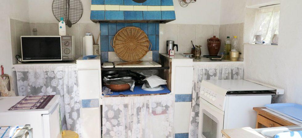 Outside kitchen - 7m²