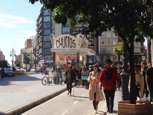 Los Churros in Valencia