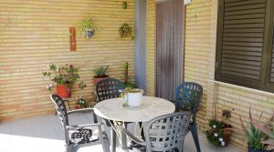 Covered terrace - 15m²