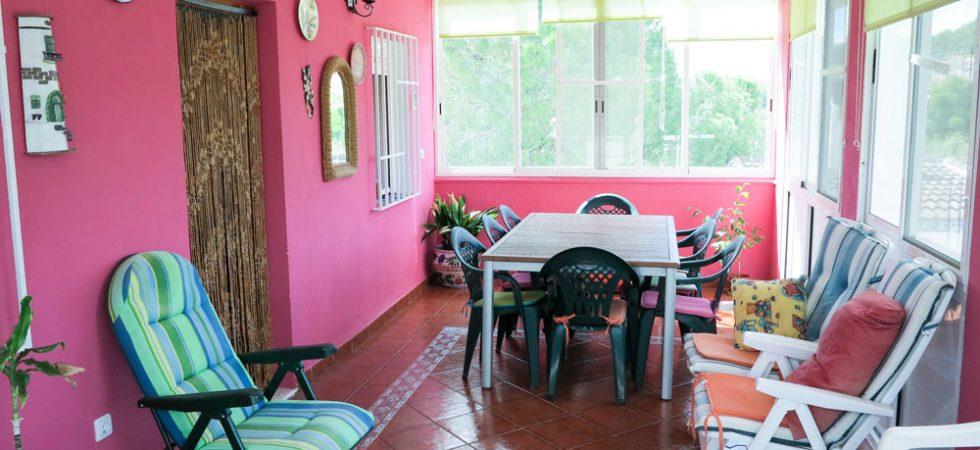 Glazed-in terrace - 21m²