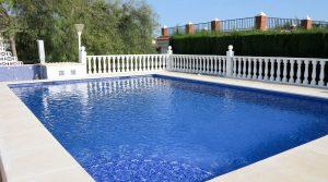 9m x 6m saltwater pool