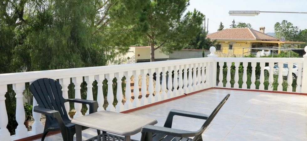 First floor Roof terrace - 24m²