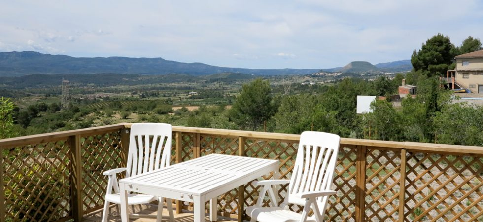 Wooden terrace -  40m²