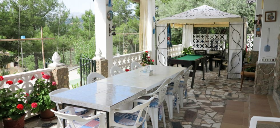 Covered terrace - 29m²