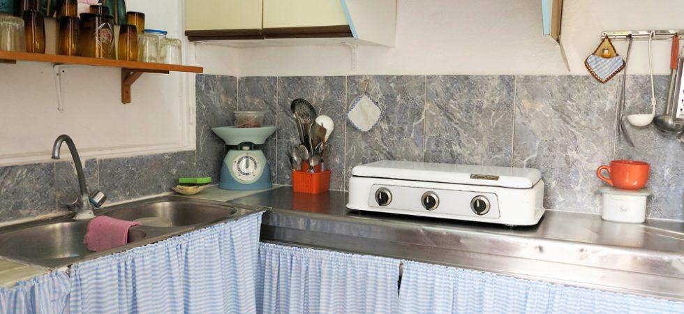 Outside kitchen - 3m²