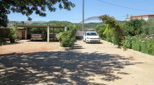 Double carport & driveway