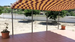 Covered terrace - 25m²