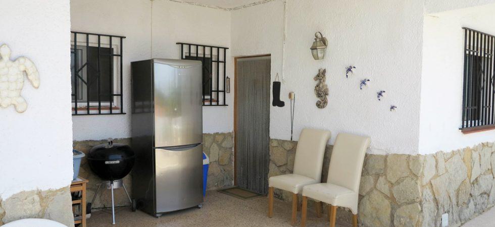 Kitchen terrace - 16m²