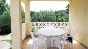Covered terrace - 21m²