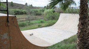 Skate ramp!