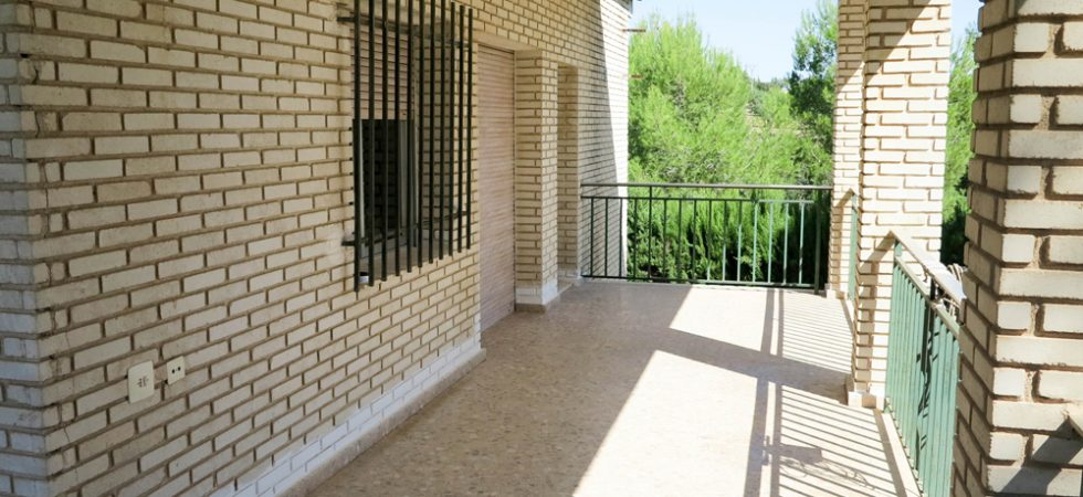 First floor Covered terrace - 28m²