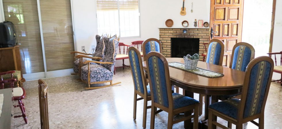 First floor Lounge/dining room - 36m²