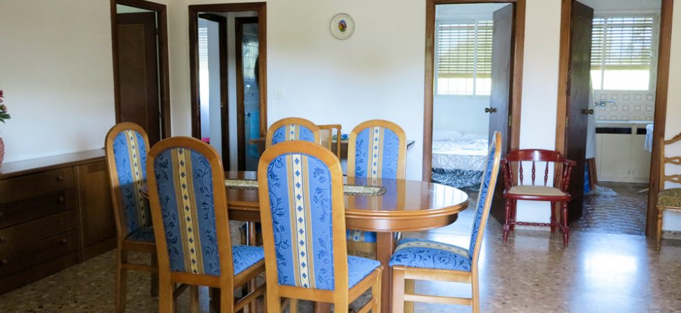 First-floor dining area