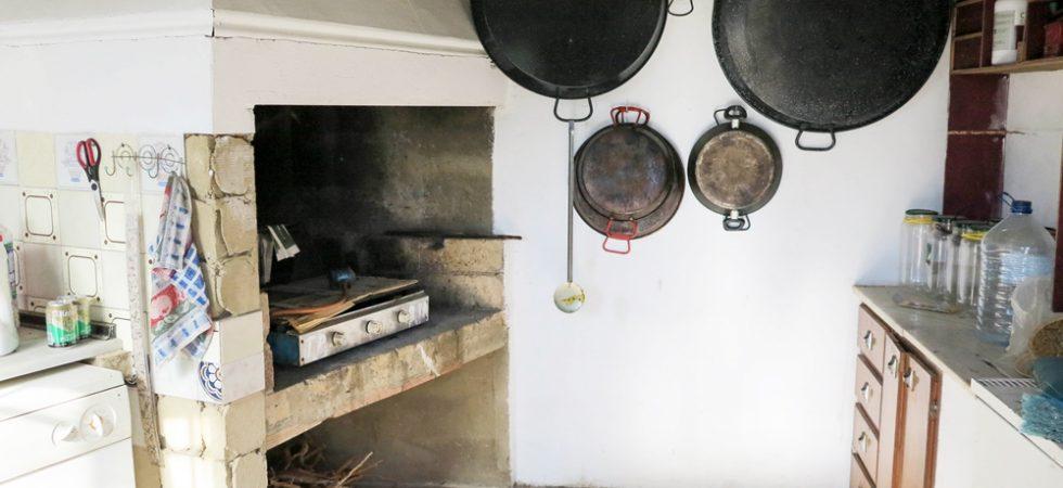 Outside kitchen - 10m²