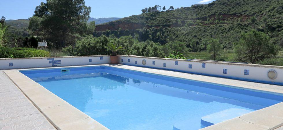9m x 5m swimming pool
