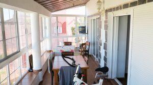 Glazed-in terrace / dining room - 23m²