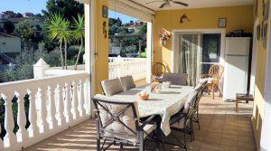 Lounge terrace - 21m²