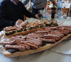 Typical Valencian Almuerzo