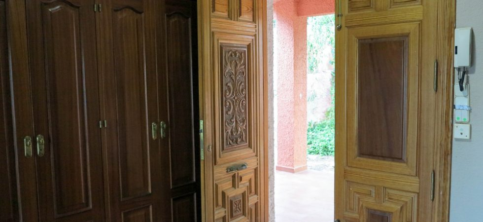 First floor entrance