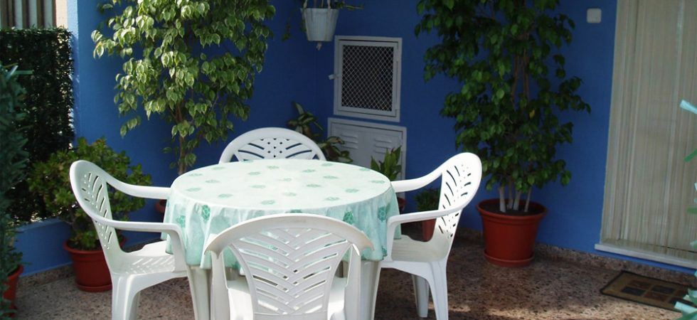 Covered terrace - 12m²