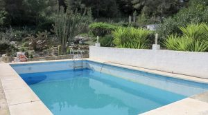 8m x 4m swimming pool Pump house - 6m²